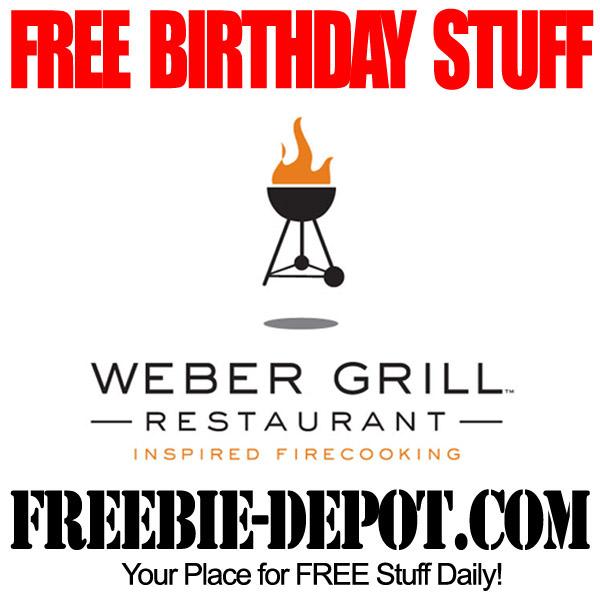 Free Birthday Weber Grill