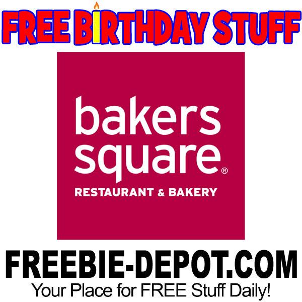 BIRTHDAY FREEBIE – Bakers Square