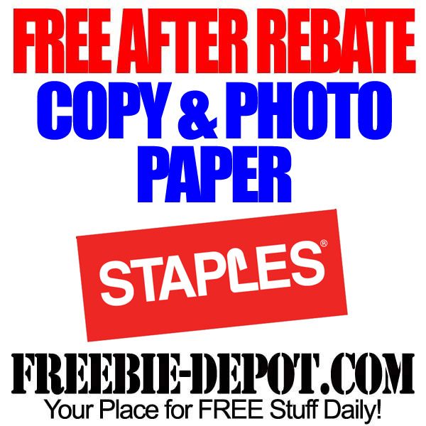 Free After Rebate Copy Photo Paper