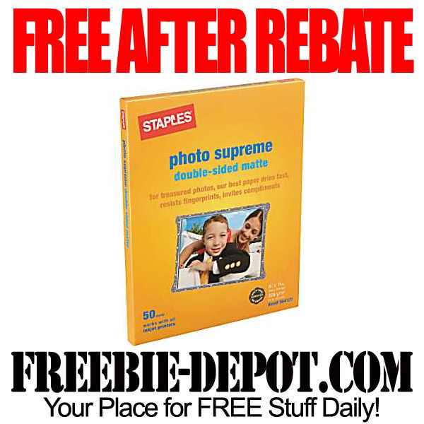 Free-After-Rebate-Photo-Supreme-Paper