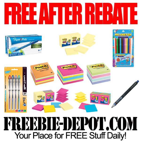 Free After Rebate Sticky Notes