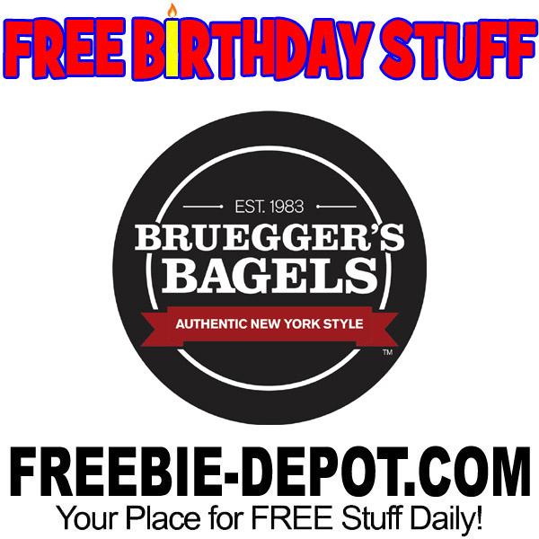 BIRTHDAY FREEBIE – Bruegger's Bagels