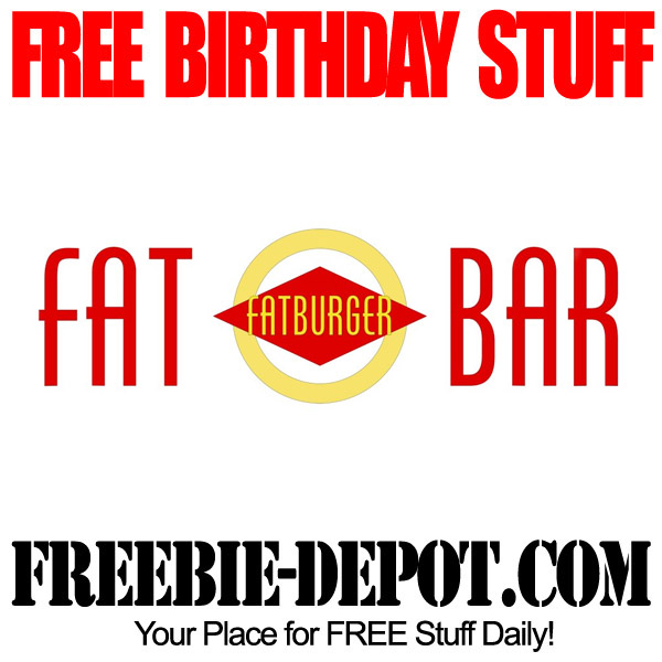 Free Birthday Fat Bar LV