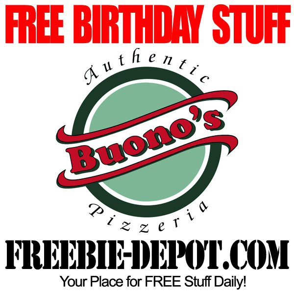 Free Birthday Personal Pizza