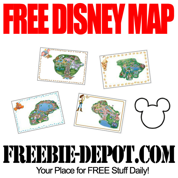 FREE Walt Disney World Maps – LIMITED TIME! FREE Customized Keepsake Maps of Disney Parks – FREE Full Color Disney Parks Maps