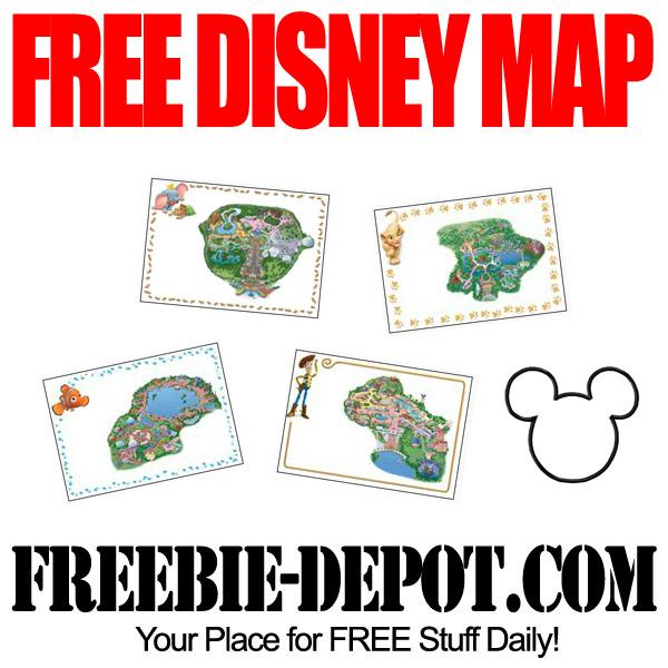 Free-Disney-Map
