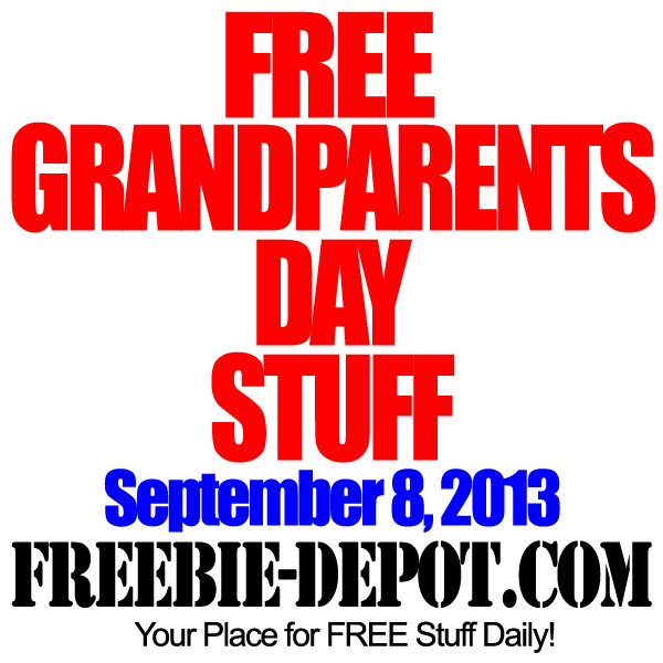 FREE Grandparent's Day Stuff 2013