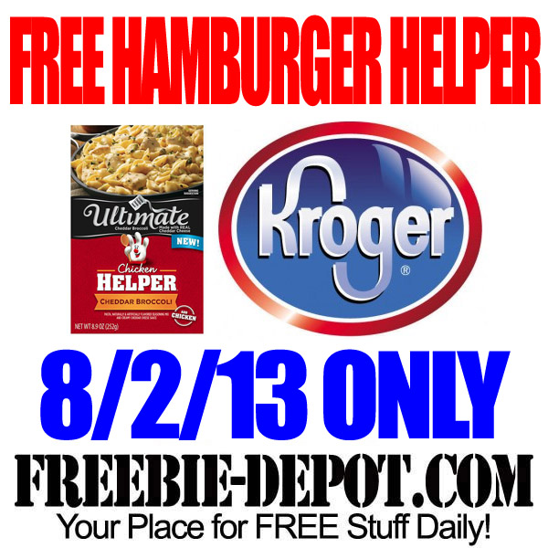FREE Hamburger Helper from Kroger