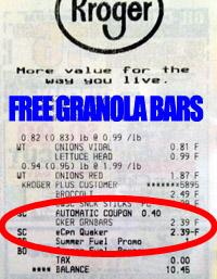Free-Kroger-Granola-Bars