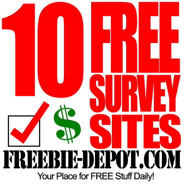 Top 10 FREE Survey Sites – Make Money from Home