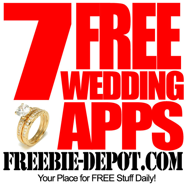 FREE Wedding Stuff – 7 FREE Wedding Apps