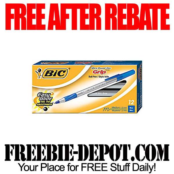 Free After Rebate Bic Pens