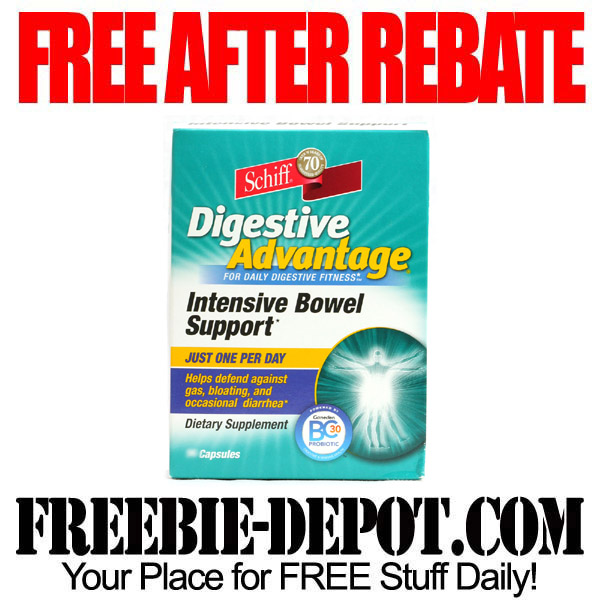 FREE AFTER REBATE – Digestive Advantage