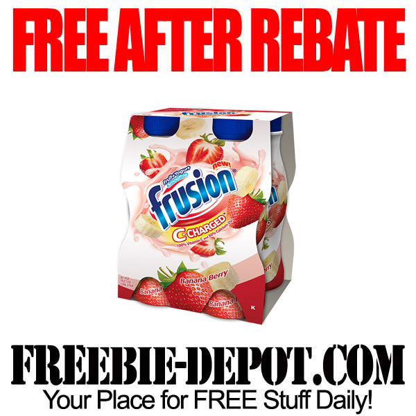 Free After Rebate Frusion Smoothies
