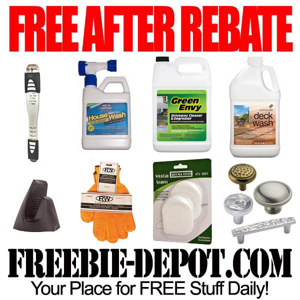 Free After Rebate Kitchen & Hardware