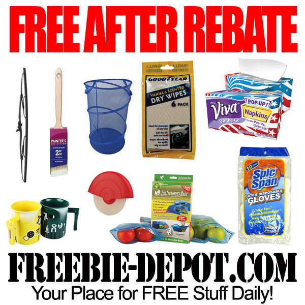 FREE AFTER REBATE – 9 Items at Menards