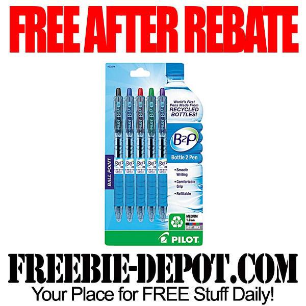 Free After Rebate Pens B2P