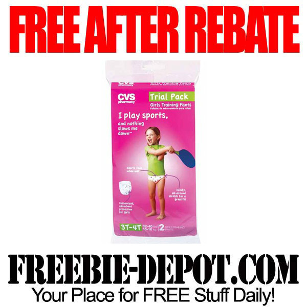 Free After Rebate Training Pants