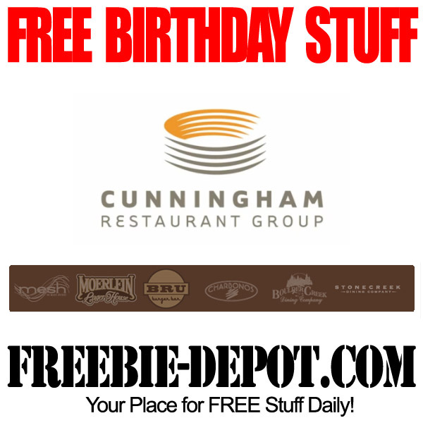Free Birthday Cunningham Restaurants