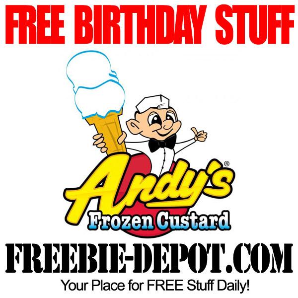 Free Birthday Frozen Custard