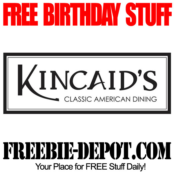 Free Birthday Kincaids