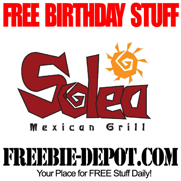 Free Birthday Mexican Solea Wisconson
