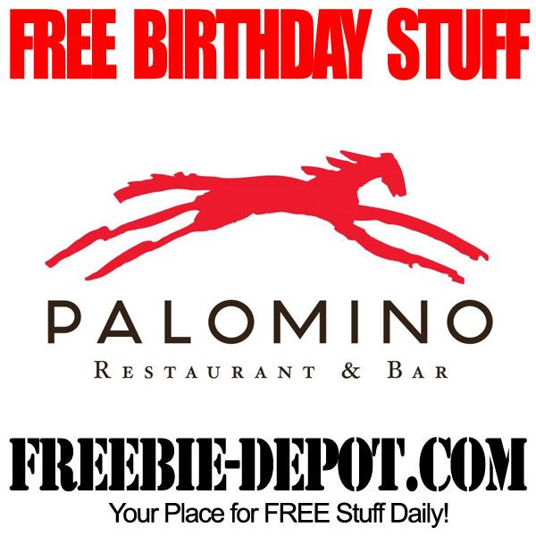 Free Birthday Meal at Palomino