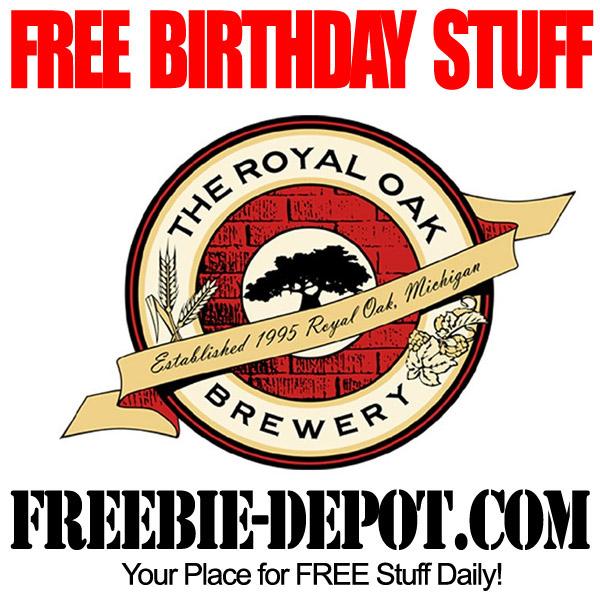 Free Birthday Royal Oak Brewery