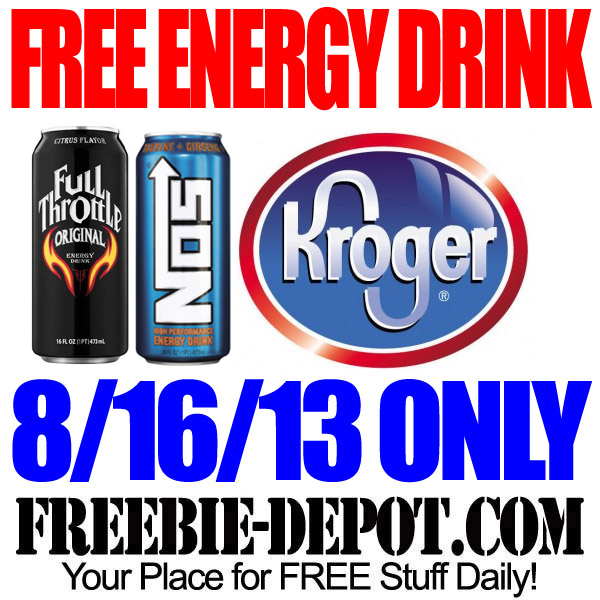 FREE Energy Drink from Kroger