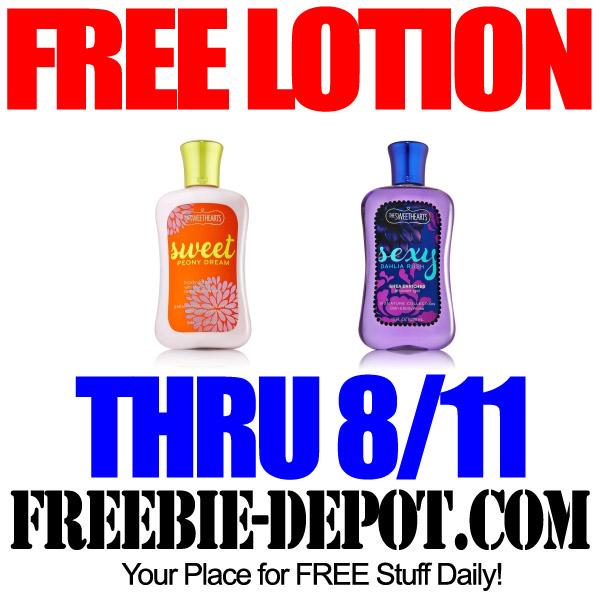 Free Lotion