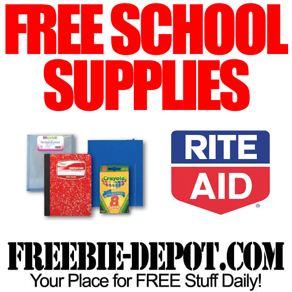 Free School Supplies at Rite Aid