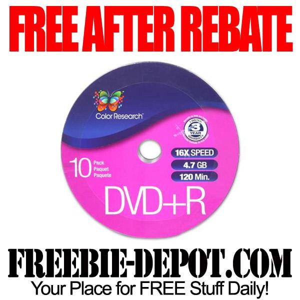 DVDRs Free After Rebate