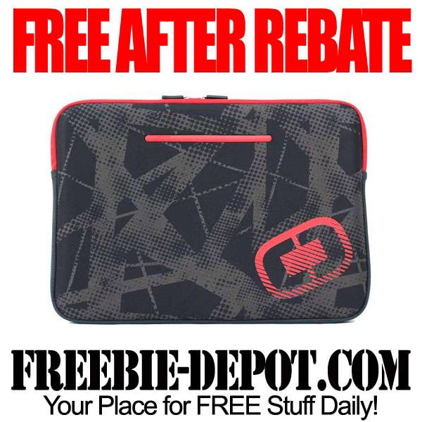 FREE AFTER REBATE - Deluxe Laptop Sleeves