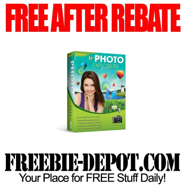 Free After Rebate Photo Explosion