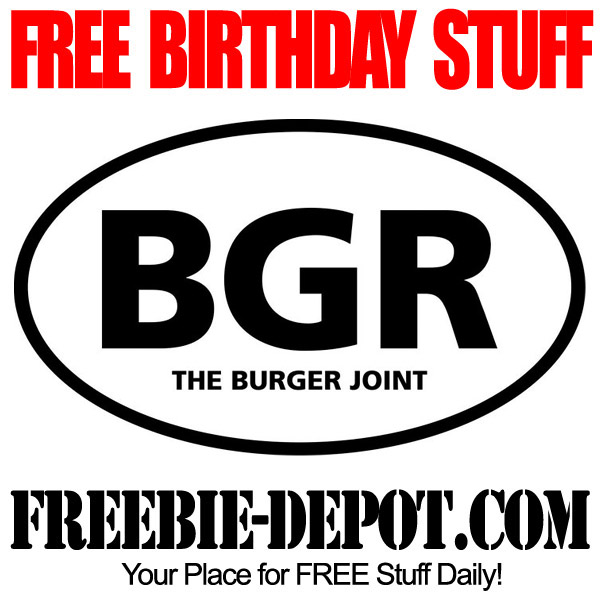 Free Birthday Burger BGR
