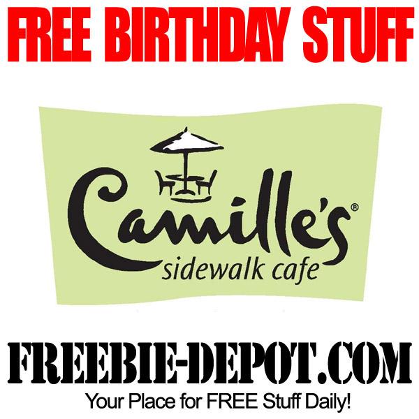 Free Birthday Camille's