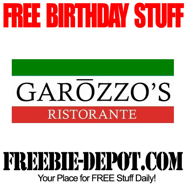 Free Birthday Italian Meal