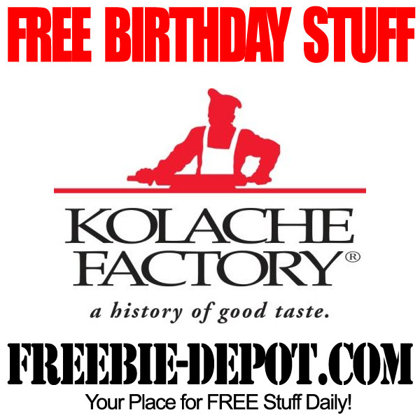 Free Birthday Kolache