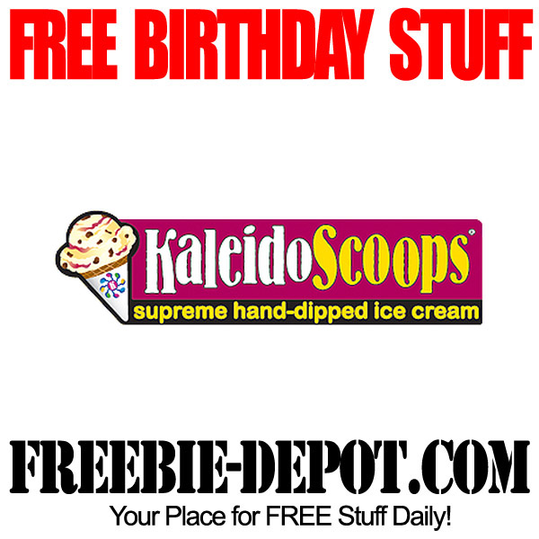 Free Birthday Ice Cream