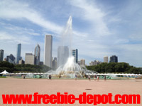 Free Chicago Buckingham Fountain
