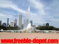 Free Chicago Buckingham Fountain