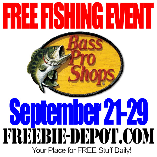 FREE Fishing Event at Bass Pro
