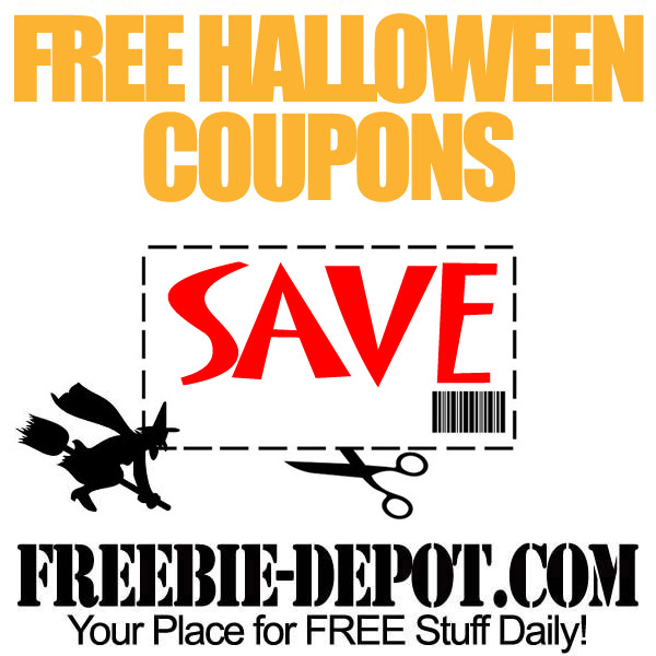 Free Halloween Coupons