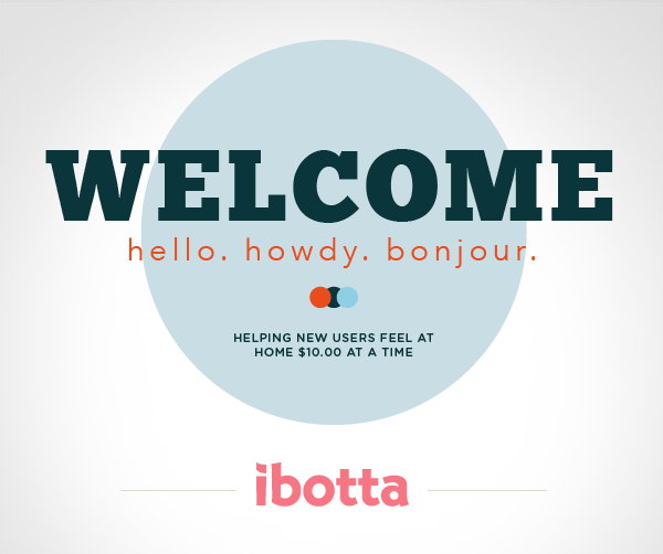 Free Ibotta Welcome Cash