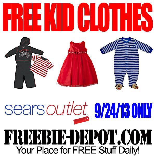 Free Kid Clothing