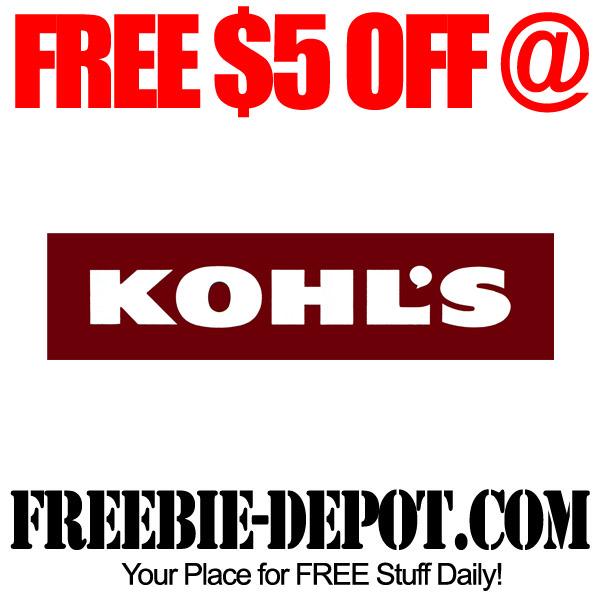 Free Kohls Savings