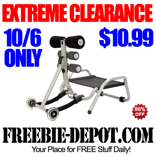 Extreme Clearance Ab Machine