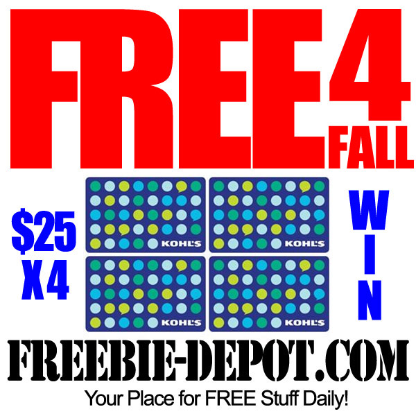 FREE 4 Fall Giveaway