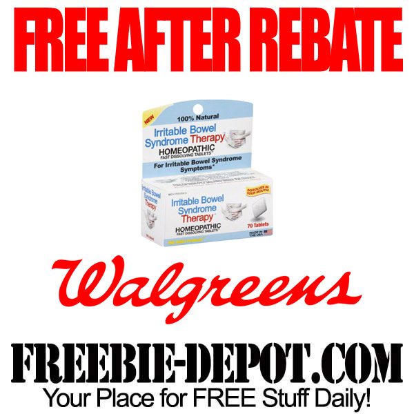 Free After Rebate IBS Medication