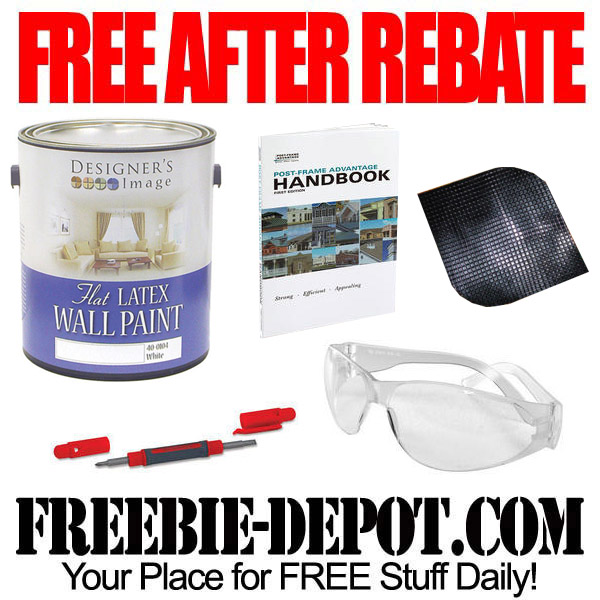 Free After Rebate Paint and More